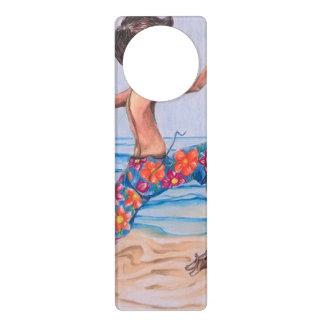 Surfs Up Door Hanger Door Knob Hanger