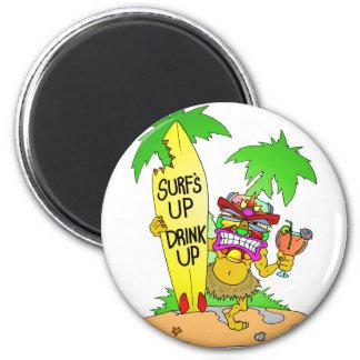Surfs Up Drink Up Magnets