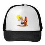 Surfs Up Dude Mesh Hats