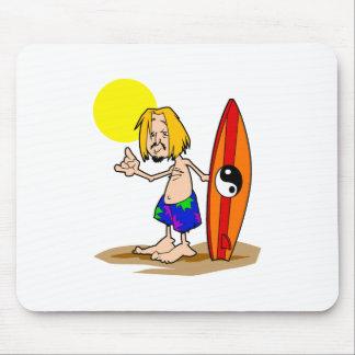 Surfs Up Dude Mousepad