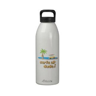 Surfs Up Dude Drinking Bottles