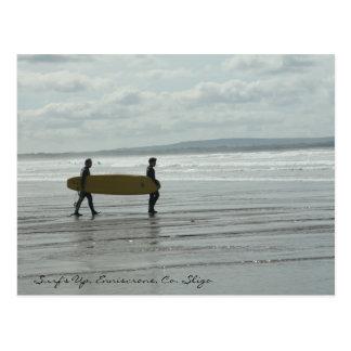Surf's Up, Enniscrone, Co. Sligo Postcard