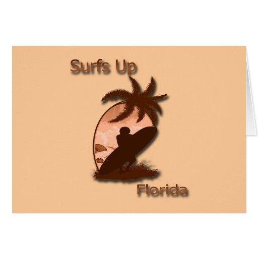 Surfs Up Florida Card