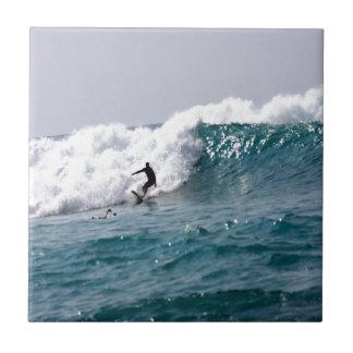 Surf's Up in Hawaii! Ceramic Tile