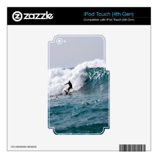 Surf's Up in Hawaii! Skins For iPod Touch 4G