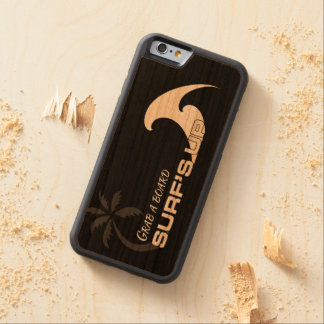 Surf's Up iPhone 6 Bumper Cherry Wood Case