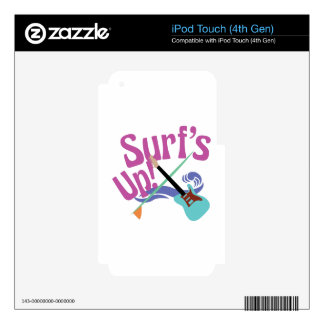 Surf's Up! iPod Touch 4G Decals