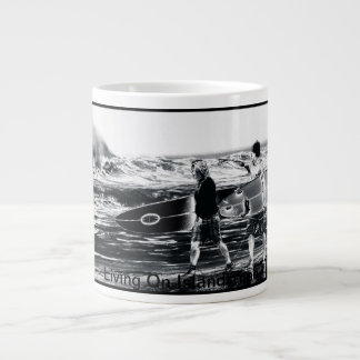 Surfs Up- Island time Large Coffee Mug
