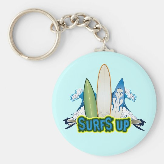 SURFS UP KEYCHAIN
