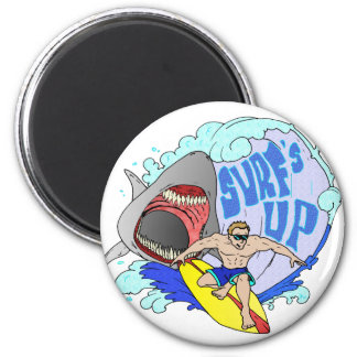 Surfs UP ! Refrigerator Magnets