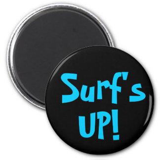 SURF'S UP! magnet (round)