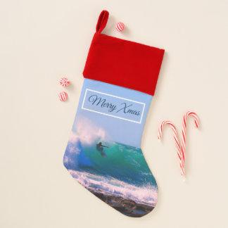 Surf's Up- Merry Christmas Christmas Stocking