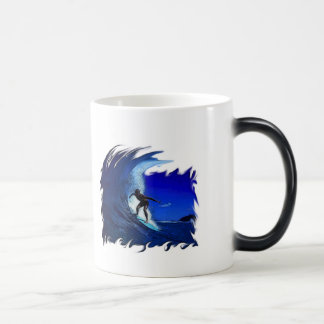 Surfs up! 11 oz magic heat Color-Changing coffee mug