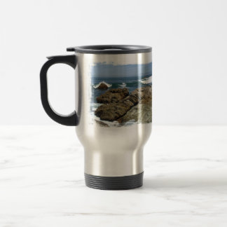 Surf's Up 15 Oz Stainless Steel Travel Mug