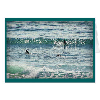 Surf's Up Note Card