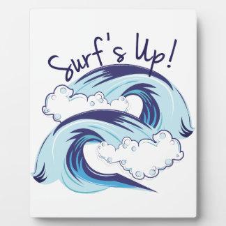 Surfs Up Plaque
