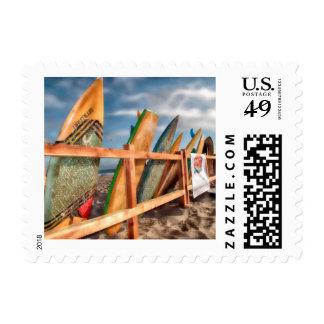 Surf's up postage.