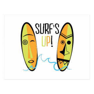 Surfs Up! Postcard