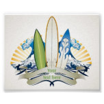 Surfs Up Poster at Zazzle