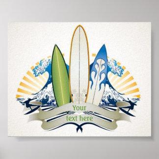 Surfs Up Print