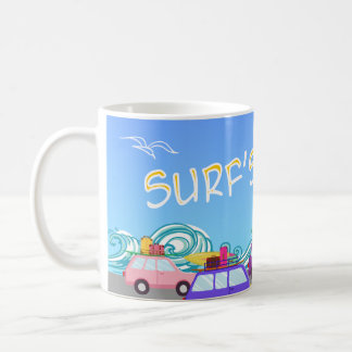 Surfs Up Road Trip Coffee Mug