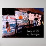 Surf's Up Senegal Poster
