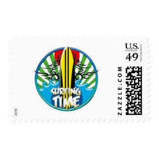 surf's up stamp