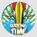 surf's up stickers