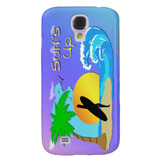 Surfs Up - Surfer Girl 3g  Galaxy S4 Cases