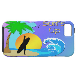 Surfs Up - Surfer Girl 4G Case-Mate Tough™Case iPhone 5 Case