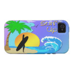 Surfs Up - Surfer Girl 4G Case-Mate Tough™Case Case-Mate iPhone 4 Cover