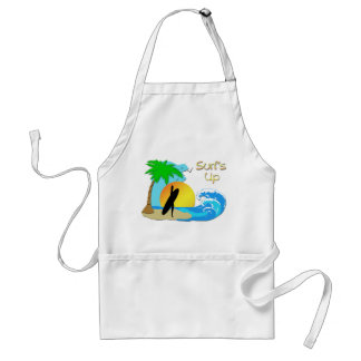 Surfs Up - Surfer Girl Apron