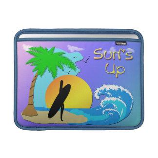 """Surfs Up - Surfer Girl Macbook Air 13"""" Rickshaw Sl MacBook Air Sleeve"""