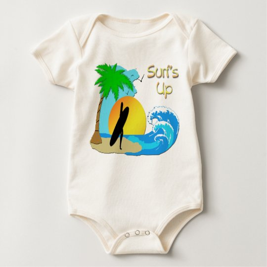 Surfs Up - Surfer Girl T-Shirt