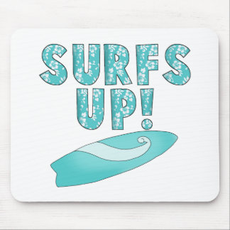 Surfs Up T-shirts and Gifts Mouse Pad