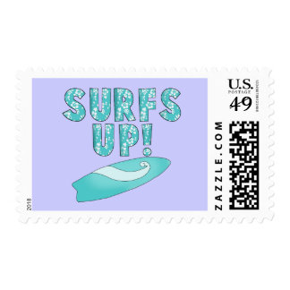 Surfs Up T-shirts and Gifts Stamps