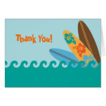 Surf's Up Thank You Card