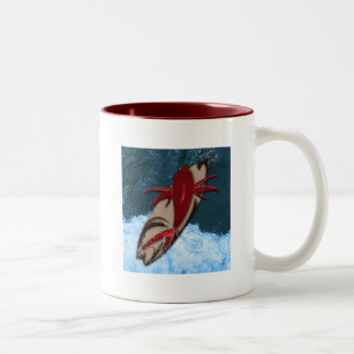 Surf's Up Two-Tone Coffee Mug