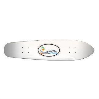 Surfside Beach. Custom Skate Board