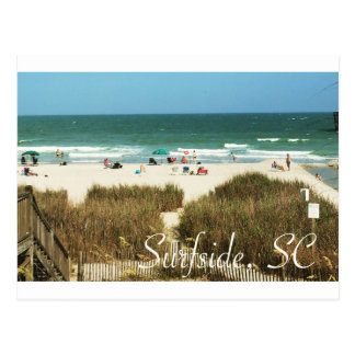 Surfside, SC Postcard