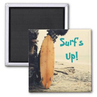 ¡Surf'sUp! Imán Cuadrado
