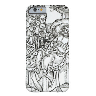 Surgeon and assistants visit a badly wounded man, barely there iPhone 6 case