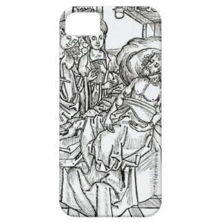 Surgeon and assistants visit a badly wounded man, iPhone 5 cover
