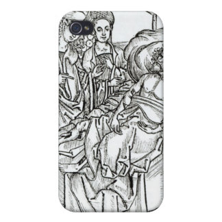 Surgeon and assistants visit a badly wounded man, cover for iPhone 4