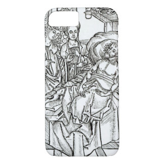 Surgeon and assistants visit a badly wounded man, iPhone 8/7 case