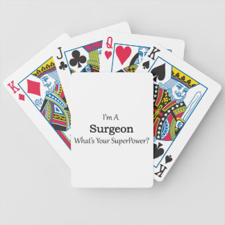 Surgeon Bicycle Playing Cards