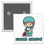 Surgeon (boy) buttons