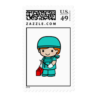 Surgeon Boy Postage