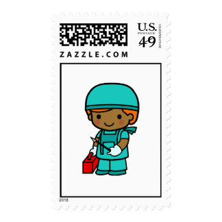 Surgeon Boy Stamps
