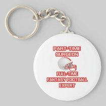 Surgeon .. Fantasy Football Expert Key Chains